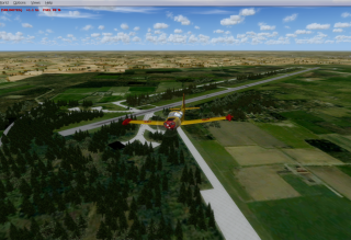 Scenery review for Ursel, Kiewit and Florennes (FSX/P3D